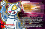 SG Ravage unofficial bio card