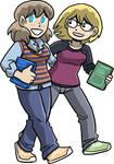 Joyce and Dorothy