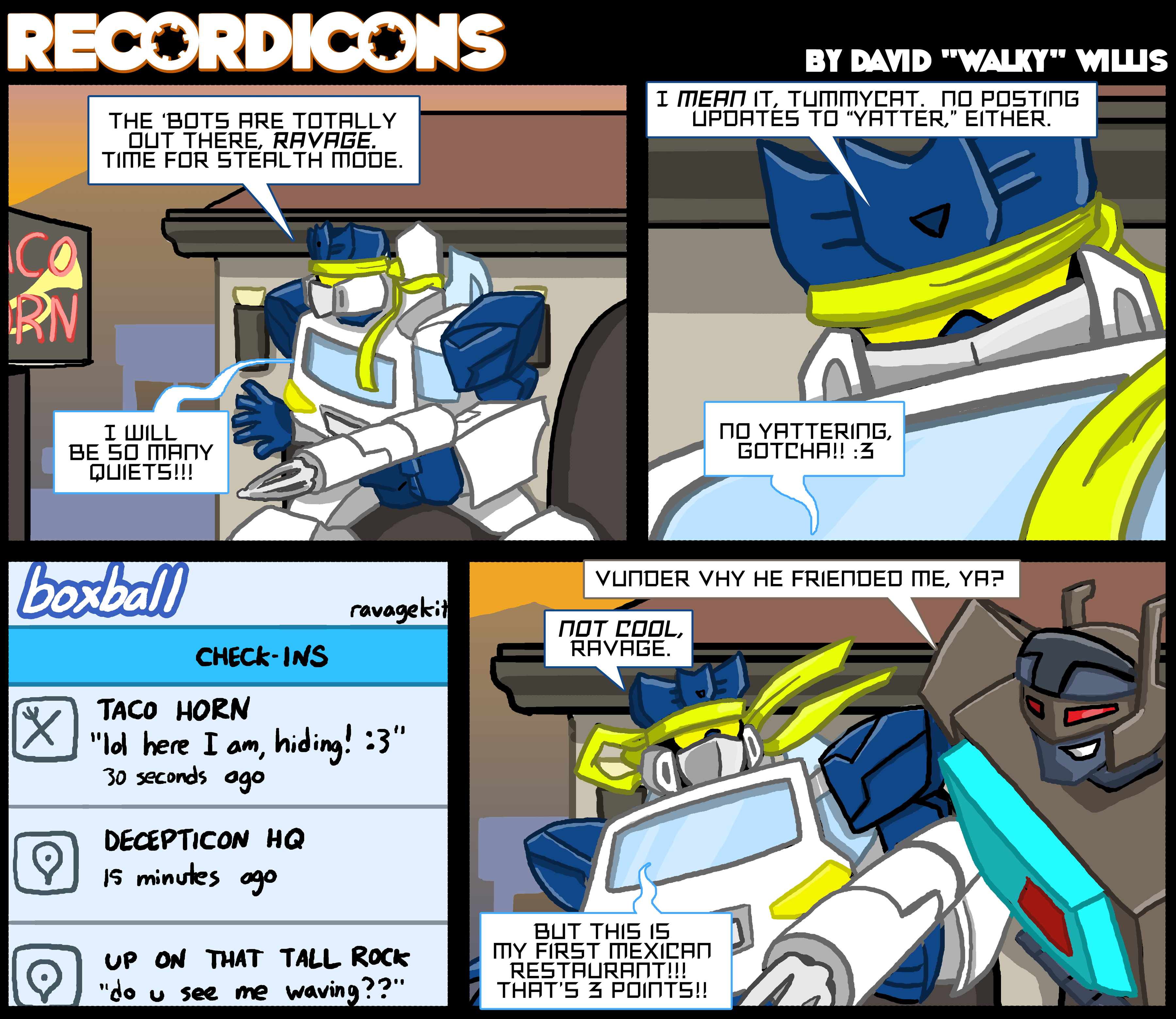 Recordicons #6 by itswalky