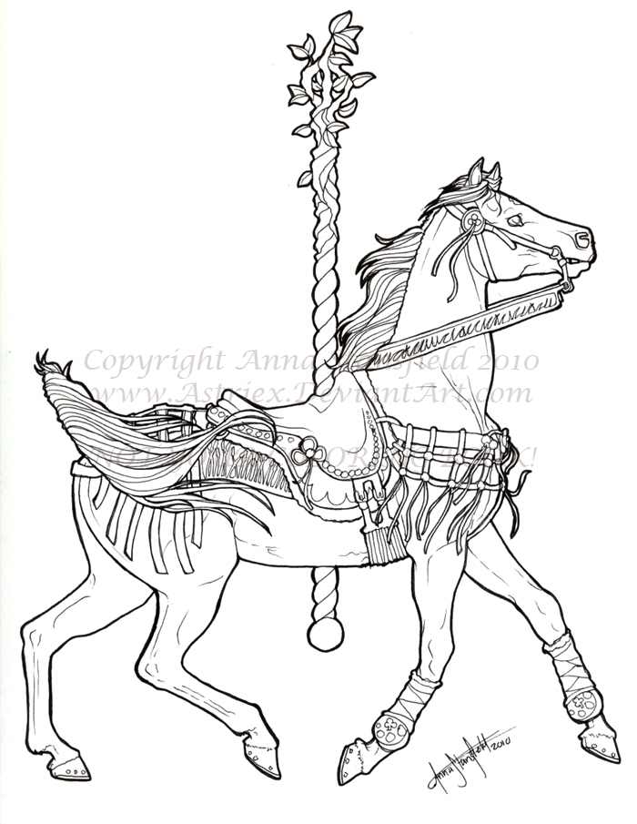Sausha Carousel Lines By AnnaCStansfield On DeviantArt