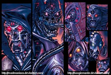 Ultimates Villains_Details by boogiemanbr