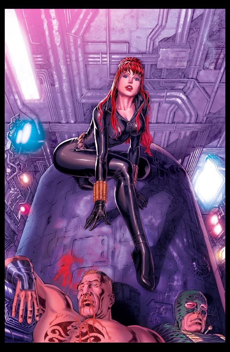 Black Widow Colors by boogiemanbr