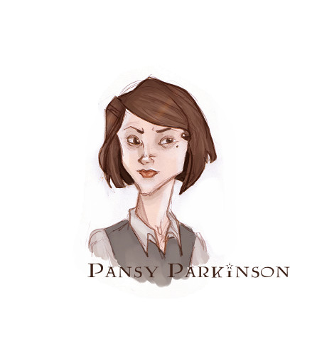 Pansy Parkinson by ericka594