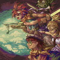 Chrono Trigger by Hooooon