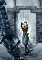Arya Stark by Hooooon