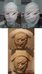 Silent Hill Nurse Mask Collage