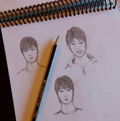 My Sketchbook by LooneyDreamer