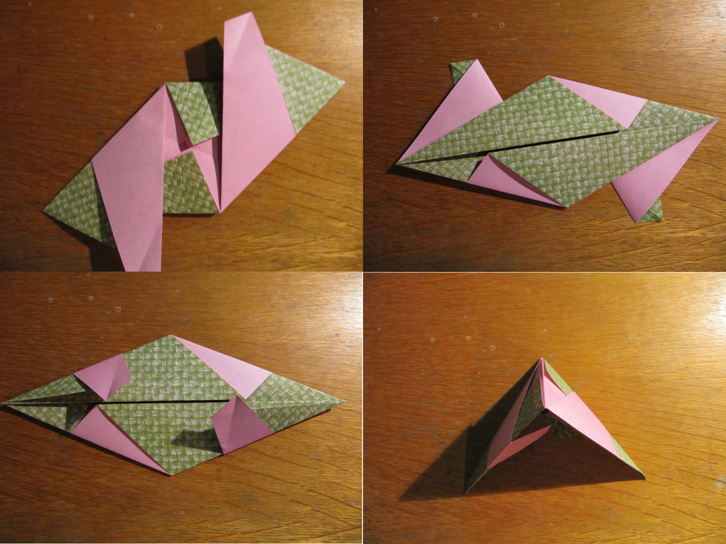 Origami from modules for beginners