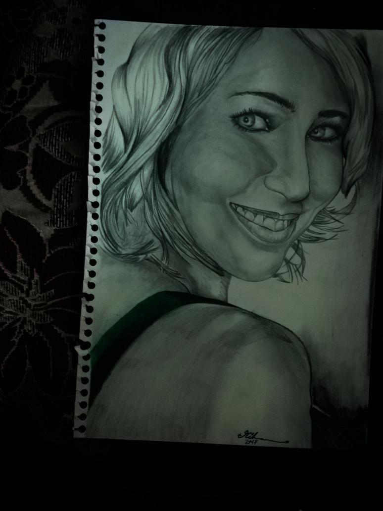 Smiling by Riham016