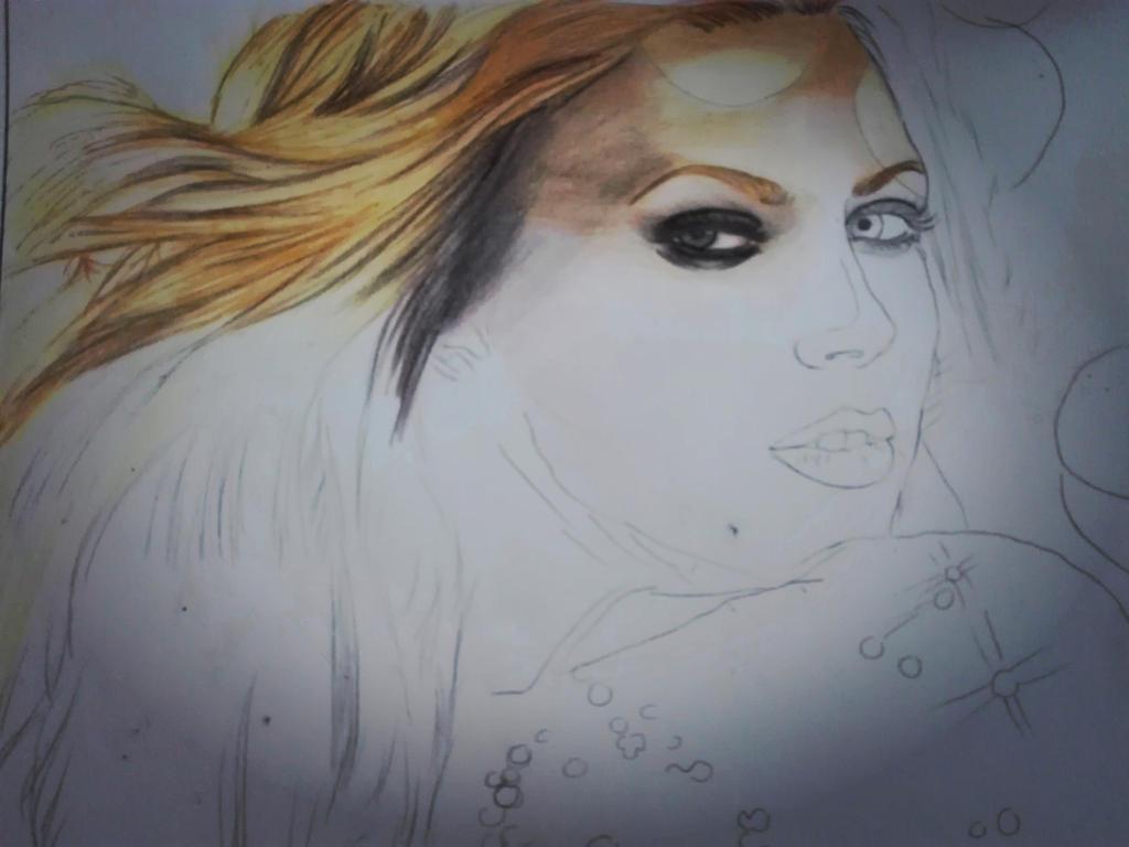 Birth of artwork by Riham016