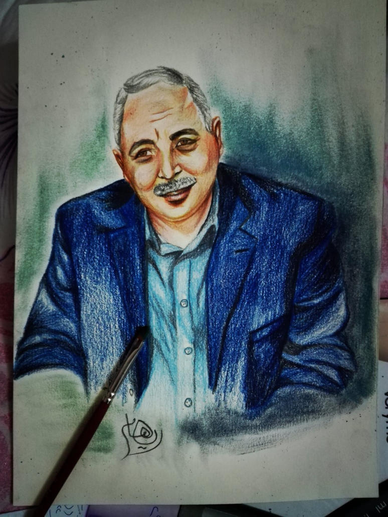 My private portrait by Riham016