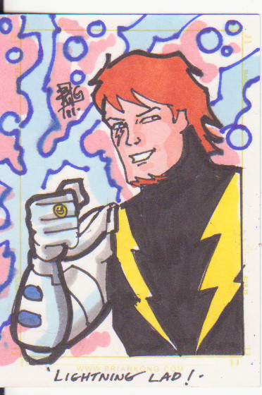 Lightning Lad by Brian Kong by JudeDeluca