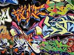 Graffiti Wall by Makii-17