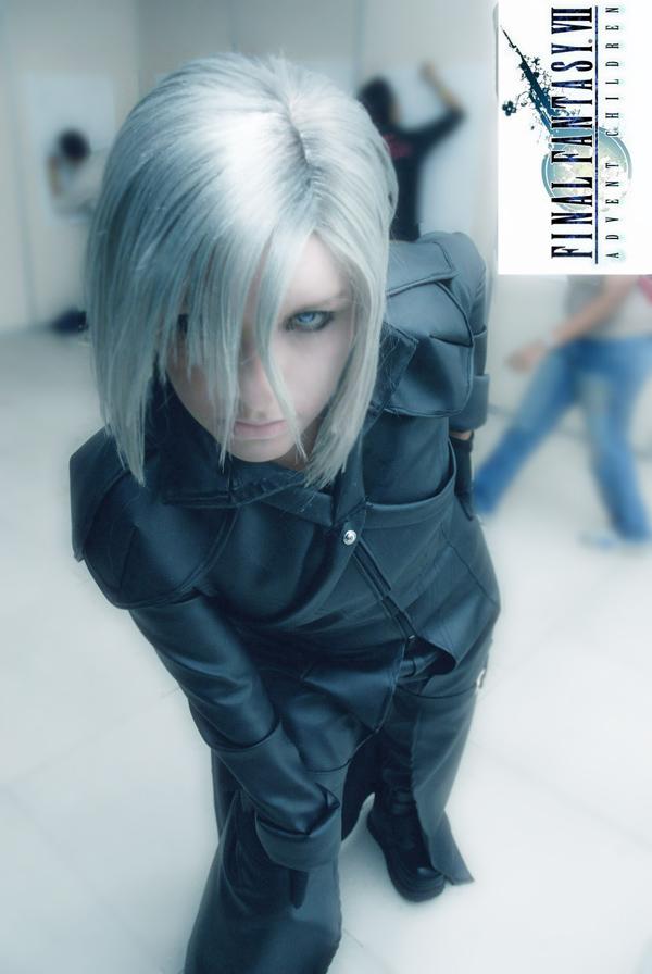 kadaj cosplay final fantasy by megamihinata
