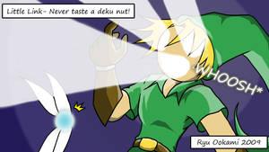 Little Link - Deku Nut by Blue-Dreamcatcher