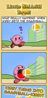 Smash Bros- Smashball Kirby by Blue-Dreamcatcher