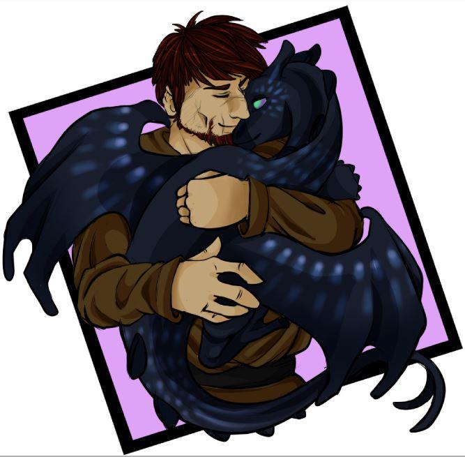 Dragon Cuddles by CrimsonSlush