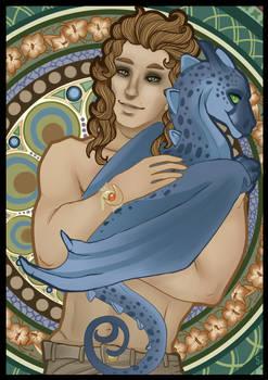 El'rix and blue Valdivianth