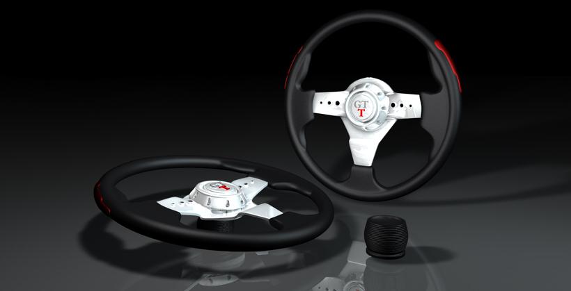 5 GT stearing wheel