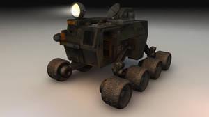 Terraformers Seeker Vehicle