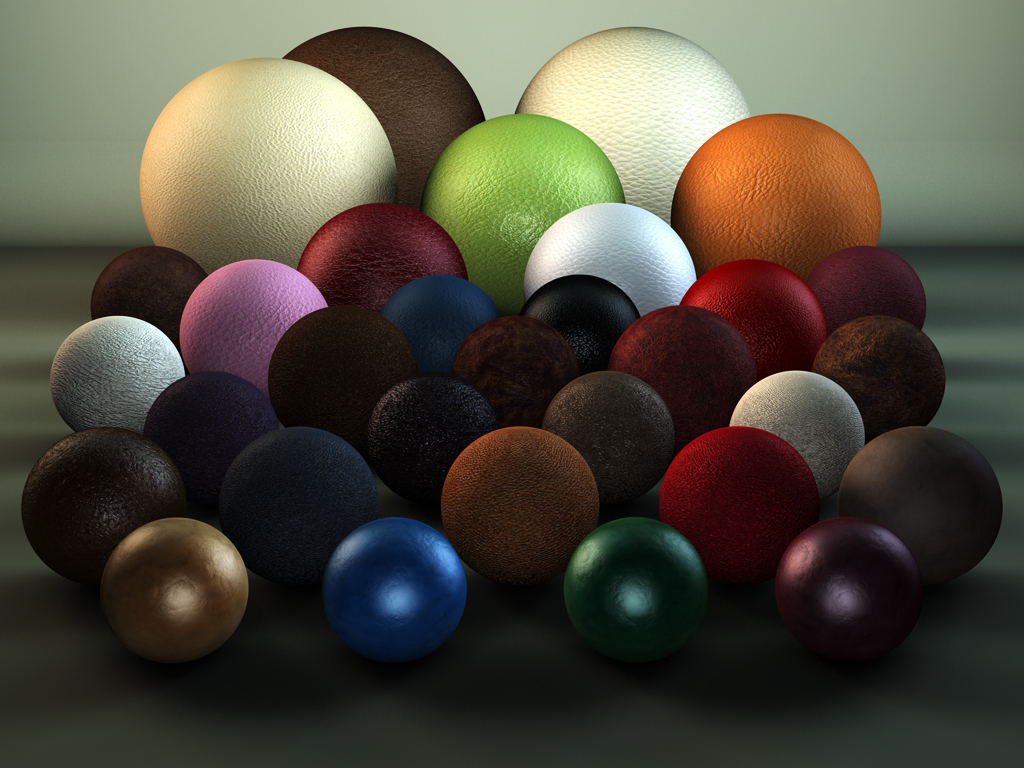 C4D Leather Shaders Pack by TonyHarris on DeviantArt