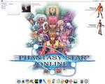 Phantasy Star Online Desktop