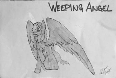 MLP: Weeping Angel by EmbraceNightEternal