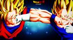 Majin Vegeta Vs Goku (DBZ) By DraDek