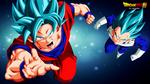 Goku , Vegeta (Dragon Ball Super ) By DraDeK