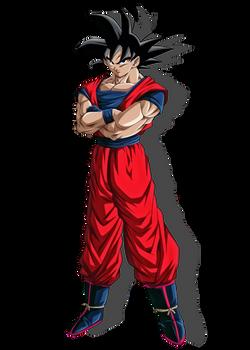 Goku  ( Render By DradreK)