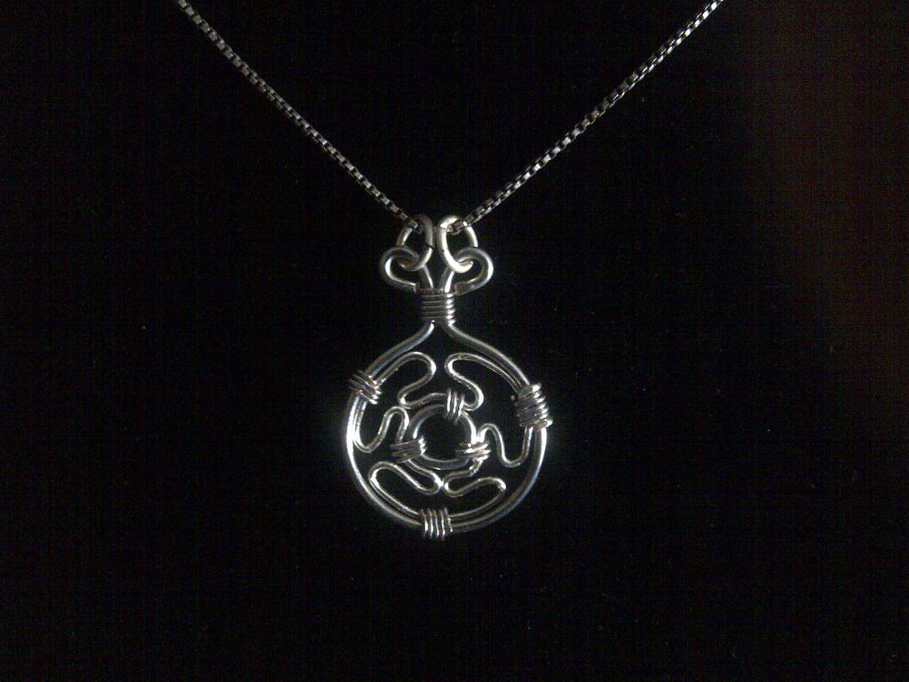 wheel strophalos necklace pin pendant choker hecate amulet magic s of symbol sin hekate talisman pins medallion sharm
