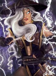 Raiden Genderbend by Brookestirr