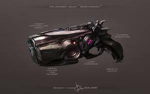plazma gun by Sergey-Lesiuk