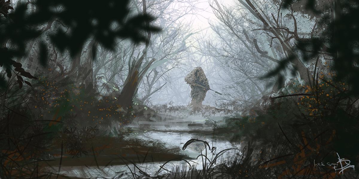 Sniper Rifle Snipers Artwork Wallpapers Hd Desktop And: Sniper-HooD By Sergey-Lesiuk On DeviantArt