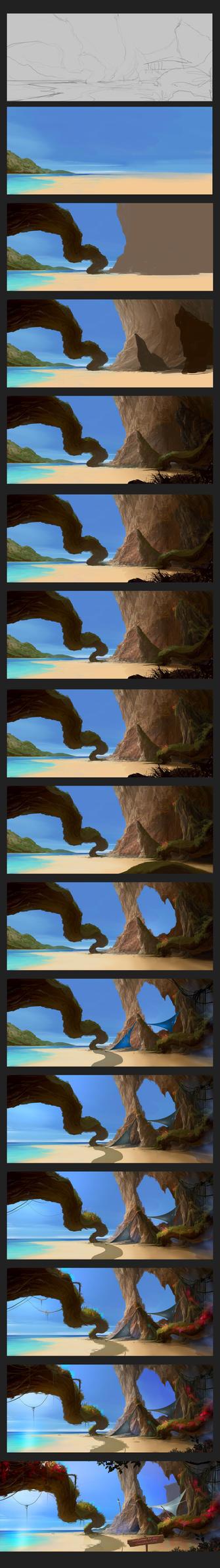 my imagination's process by Sergey-Lesiuk