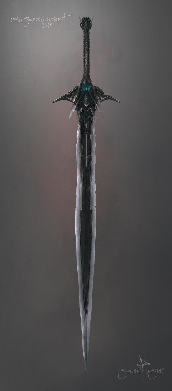 cool fantasy swords drawings