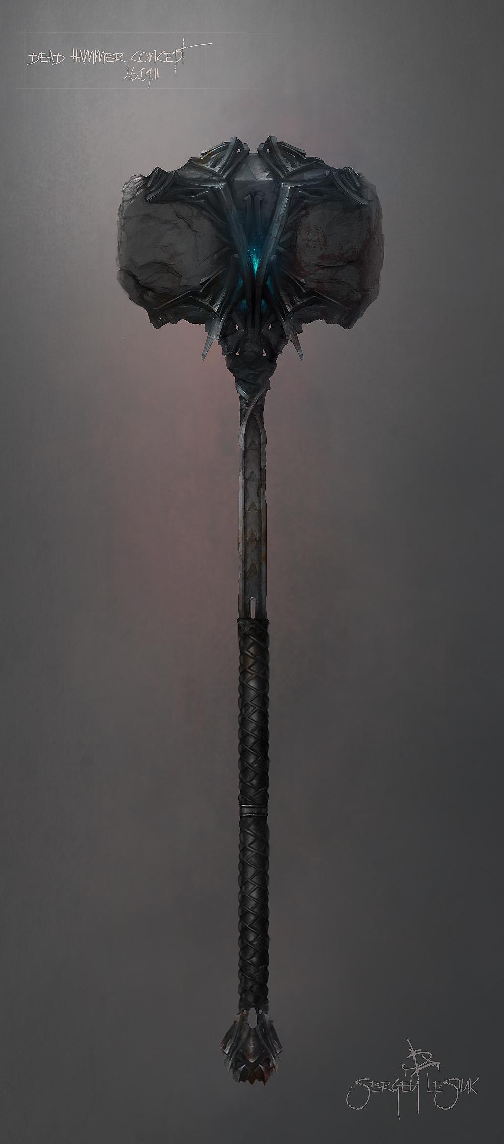 Dead Hammer by Sergey-Lesiuk