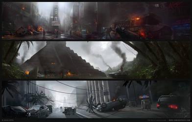 Zombie Slayer by Sergey-Lesiuk