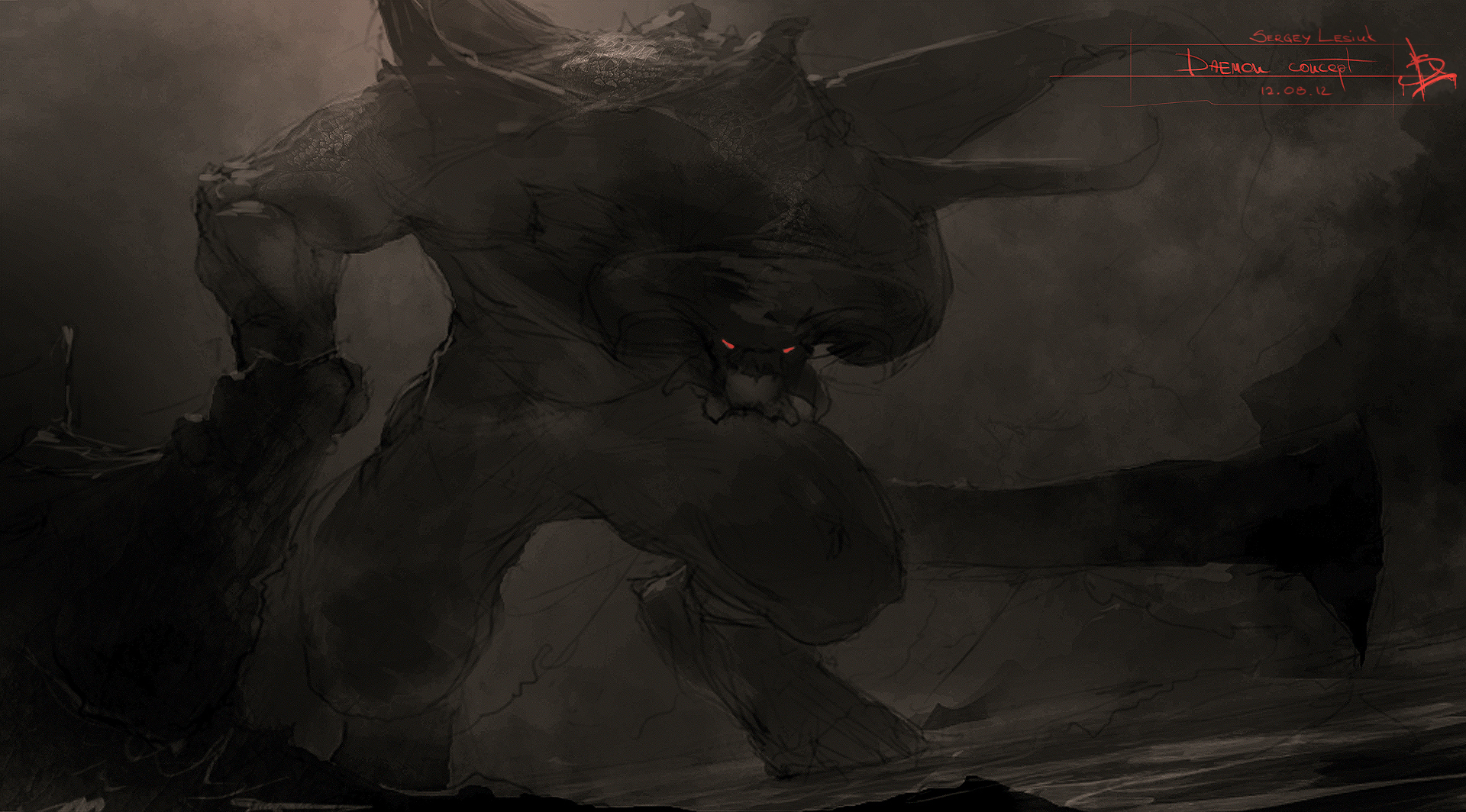 Daemon by Sergey-Lesiuk