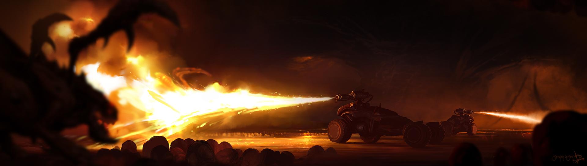 StarCraft 2: Hellion Rush HD by Sergey-Lesiuk