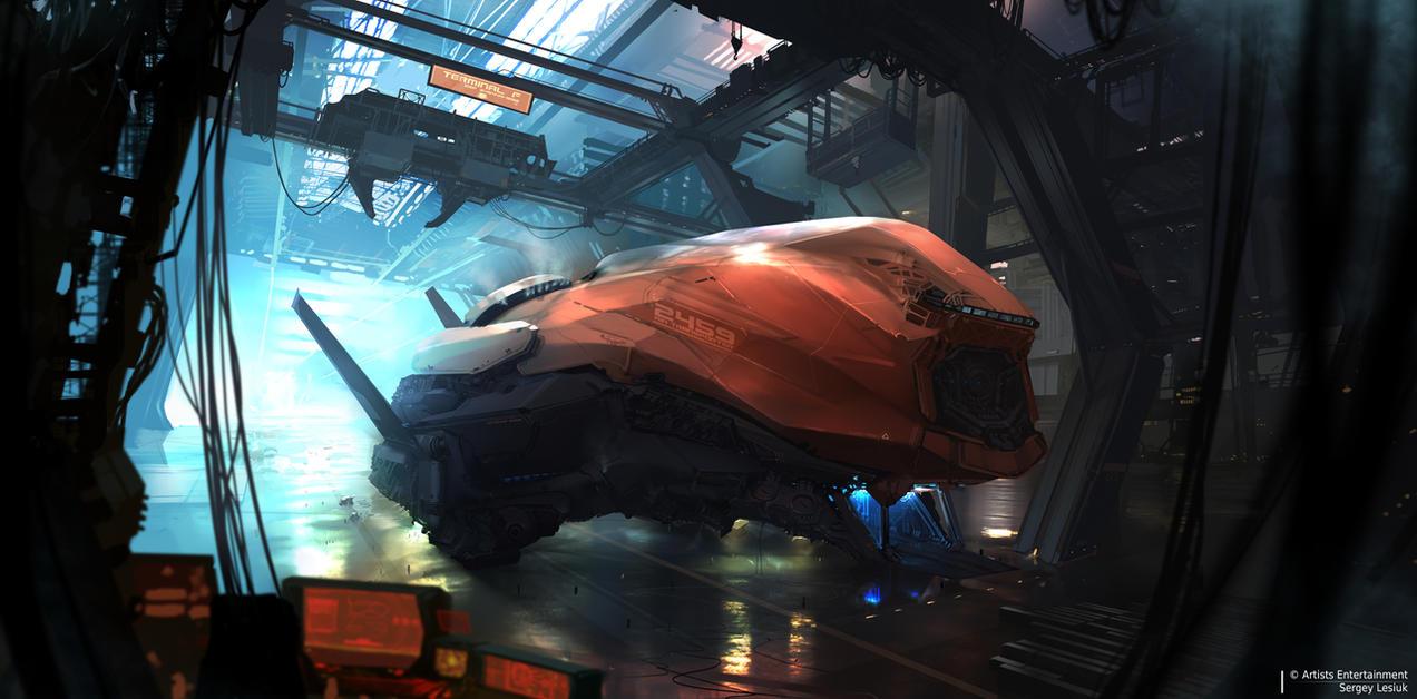 Transporter by Sergey-Lesiuk