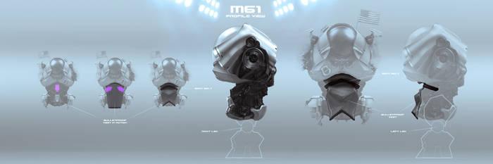 M61 profile view by Sergey-Lesiuk