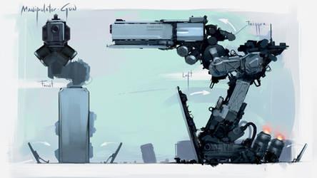 Manipulator Gun by Sergey-Lesiuk