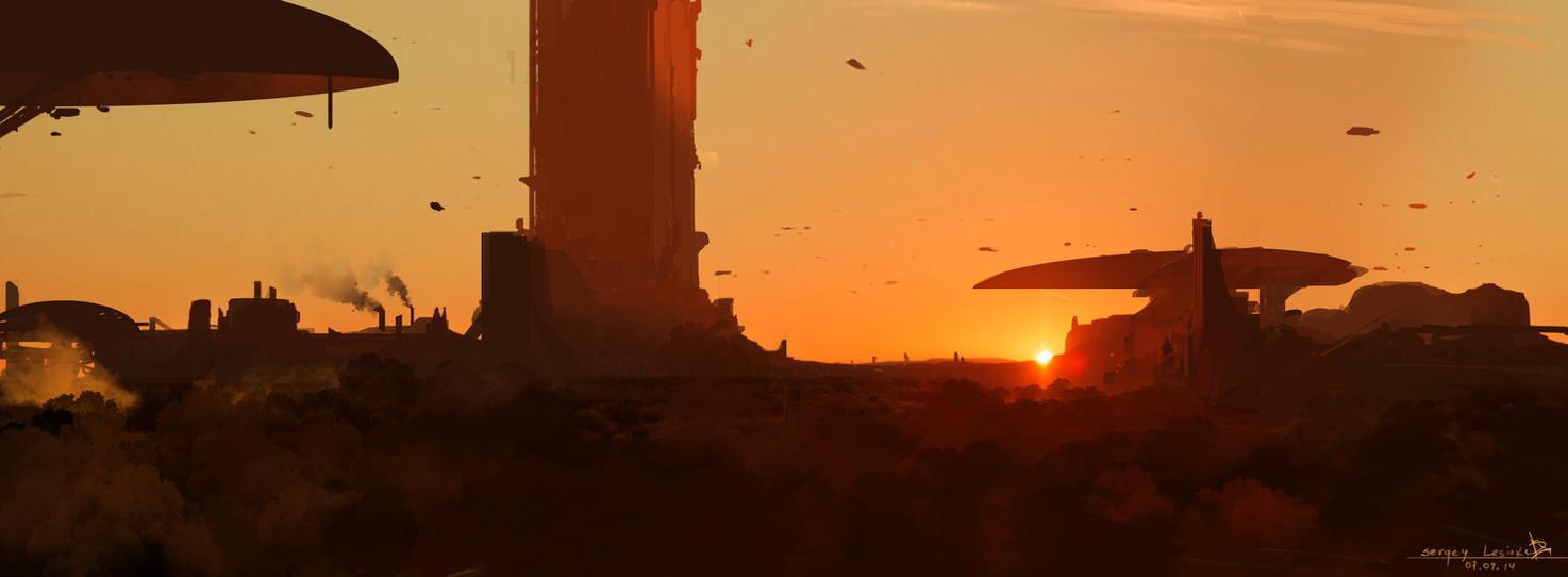 Sunset by Sergey-Lesiuk