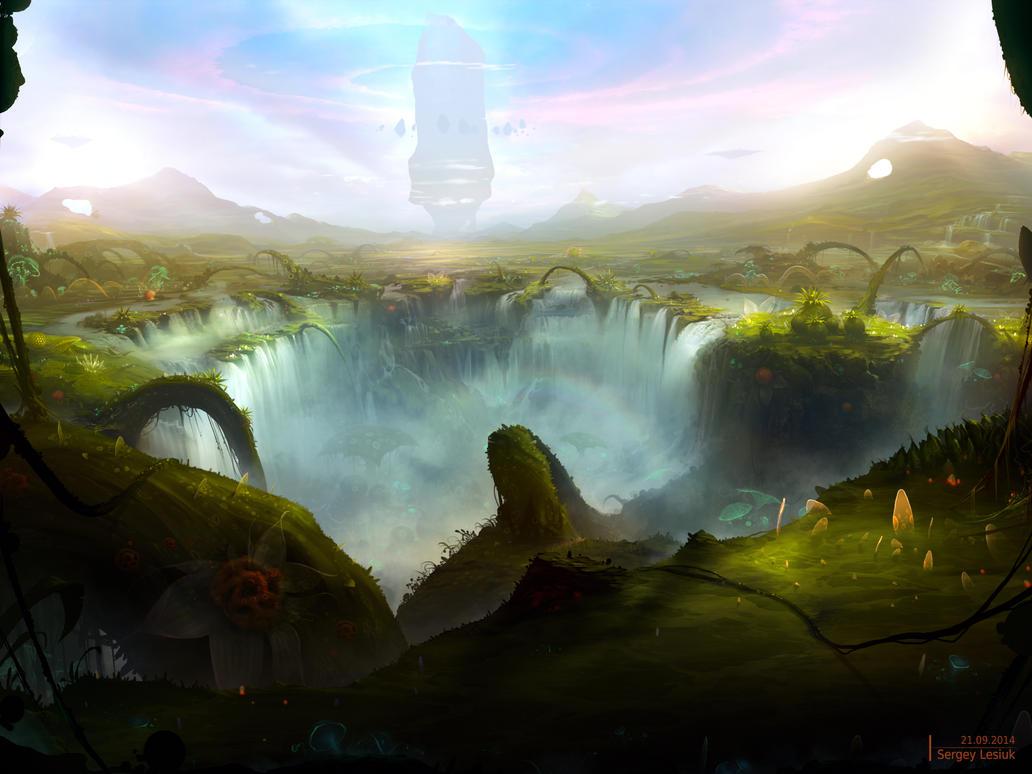 New World by Sergey-Lesiuk