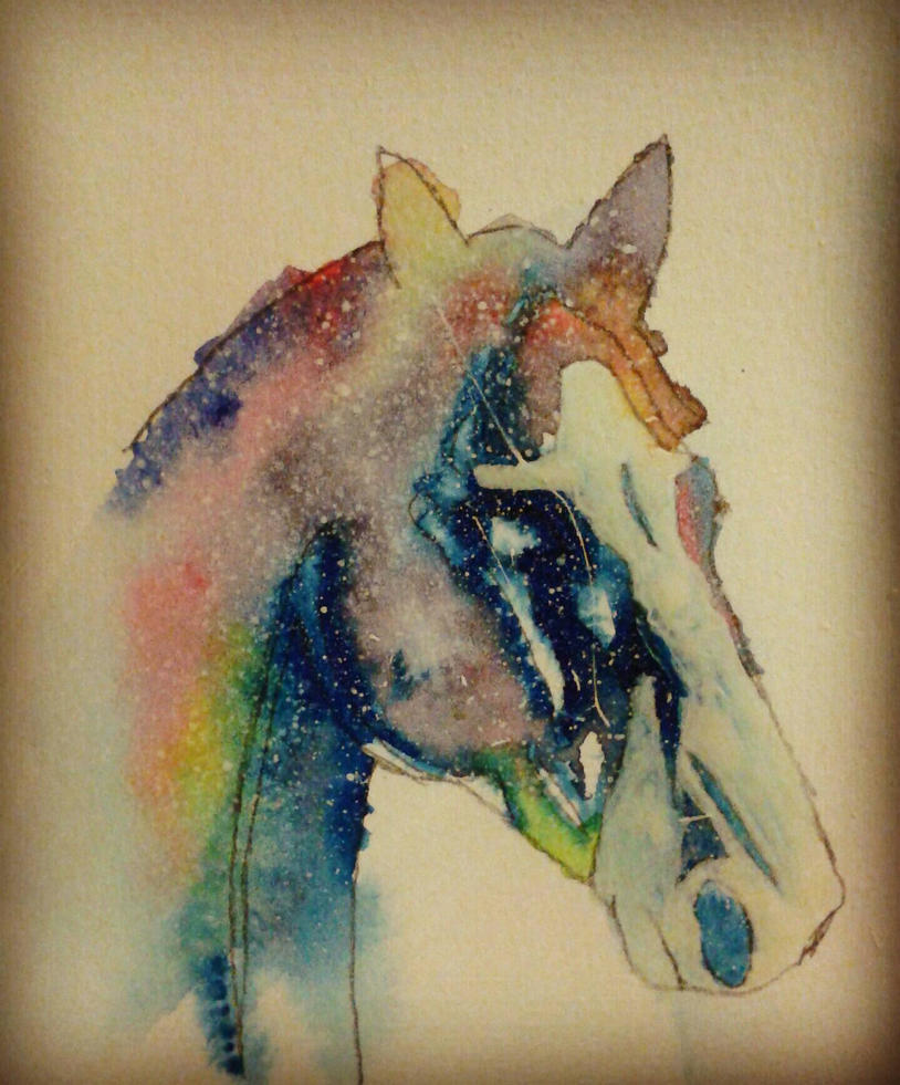 Horse Head Constellation  by O-P-Alaynius