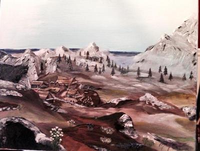 Plains of Whiterun by kdrmickey