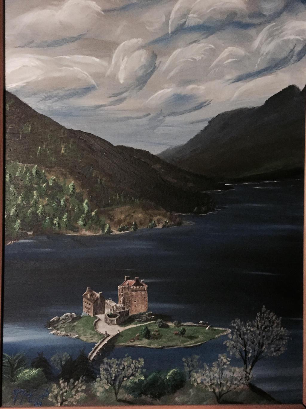 Scottish Loch by kdrmickey