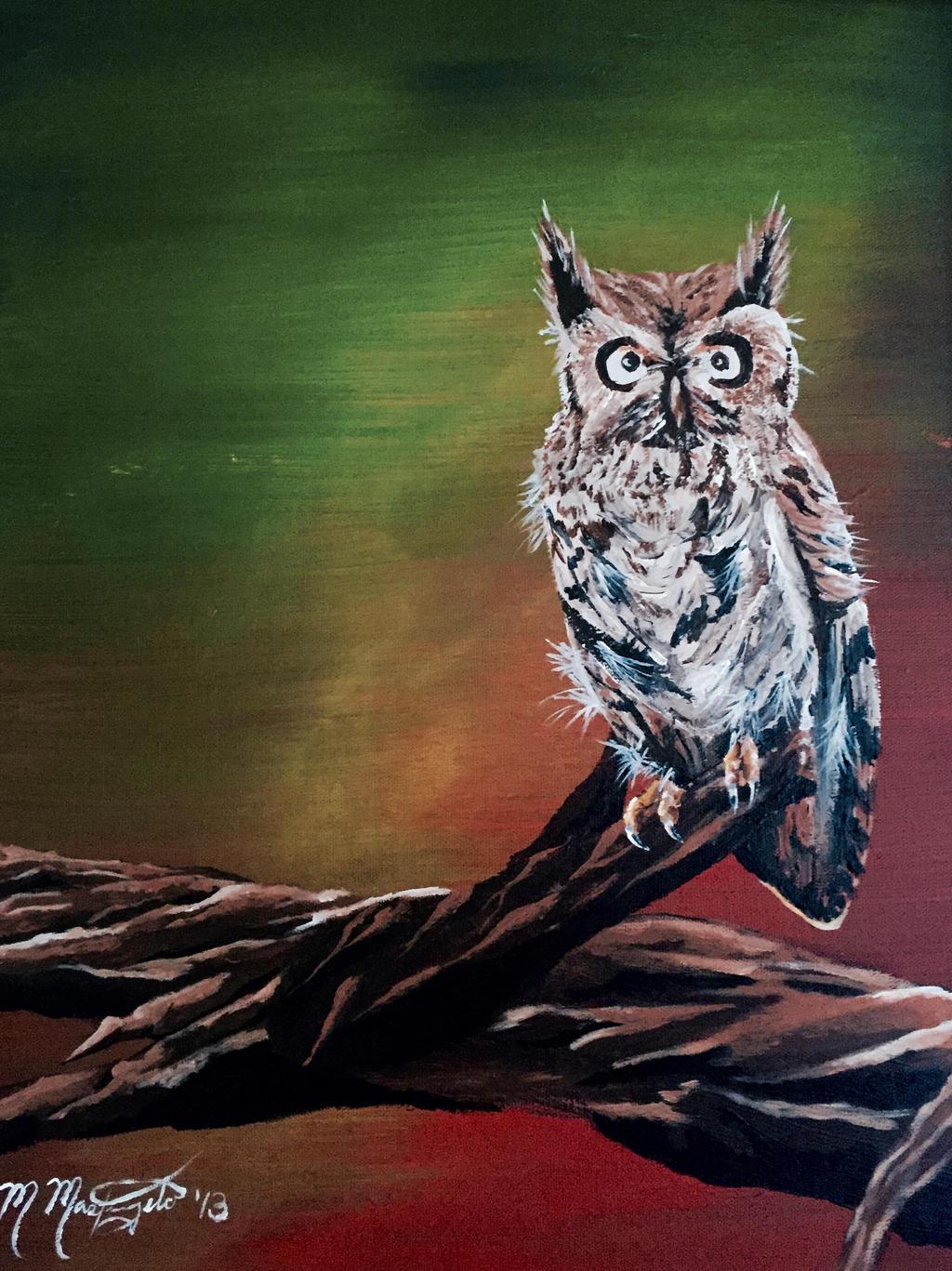 Great Horned Owl by kdrmickey