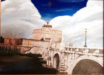 Castle and Bridge of sant'Angelo